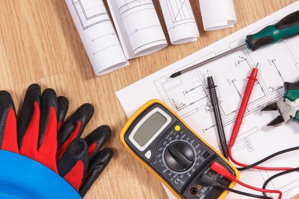 Electrical diagrams, multimeter